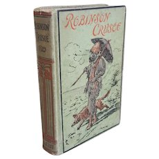 The Life and Surprising Adventures of Robinson Crusoe by Daniel Defoe