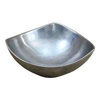 """Large 10.5"""" Nambe 528 Butterfly bowl"""