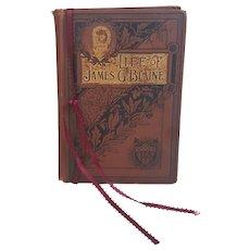 The Life of Jame G. Blaine book Publishers Union 1893