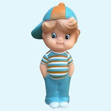 I'm a Gerber Kid squeaky toy figure