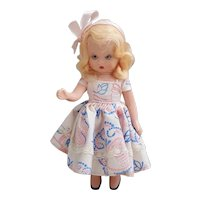 Nancy Ann Story Book doll hard plastic posable sleepy eyed, Blond Nancy Ann doll