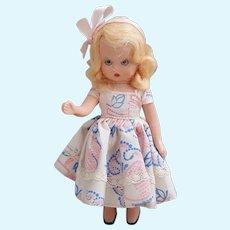 Nancy Ann Story Book doll hard plastic posable sleepy eyed, Blond Nancy Ann doll