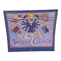 1976 The Americana Calendar artist Charles Wysocki