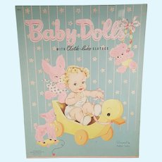 1944 Whitman Baby Dolls Paper Dolls Designed by Kathryn Taylor