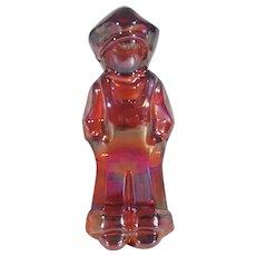 Mosser Josh figurine, Mosser VI Hunter carnival glass figurine
