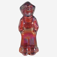 Mosser Josh figurine, Mosser VI Hunter carnival glass figurine