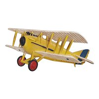 Super cool 1970's Midwest Cast Metal airplane wall decor