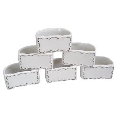 Shafford Japan set of eight napkin rings