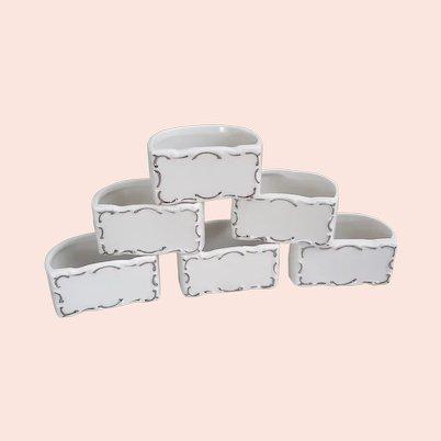 Shafford Japan set of eight napkin rings
