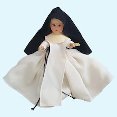 Nancy Ann Storybook Doll 81 Nun with original box and arm tag