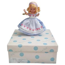 Nancy Ann Storybook Doll 119 Mother Goose Series Alice Thru the Looking Glass