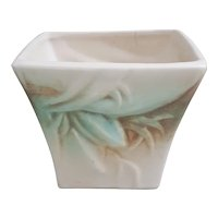 1940's McCoy Rustique buds and leaves planter