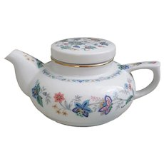 Beautiful petite Floral Andrea by Sadek Teapot