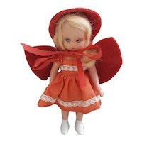 Vintage Nancy Ann Storybook doll Little Red Riding Hood-BOX XX