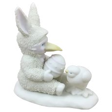 Dept 56 Springtime Stories of the Snowbunnies Are you my Mama