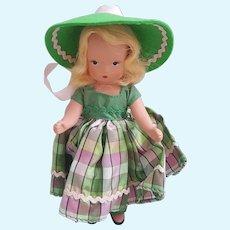 Nancy Ann Storybook Doll 129 A Dillar A Dollar, NASB