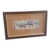 Beautiful Cash's Delicately Woven Silk Pictures Daimler