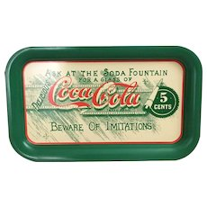 1987 Coca Cola Tray Ask At The Soda Fountain
