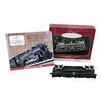 1998 Hallmark Keepsake Ornament Pennsylvania GG-1 Locomotive Lionel Train