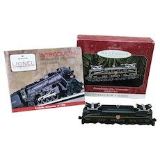 1998 Hallmark Keepsake Ornament Pennsylvania GG-1 Locomotive Lionel Train