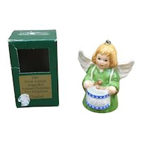 1984 Goebel W Germany Ninth Edition Angel Bell annual Christmas Tree Ornament