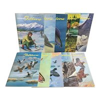 Wonderful set of 10 1970's Colorado Outdoors magazines