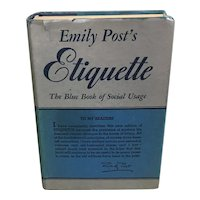 1950's Etiquette by Emily Post, The Blue Book of Social Usage