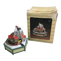 Enesco's Alpine Village Music Box It's A Small World