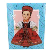 Never Opened, Peck Gandre The Brunette International Series Paper Dolls