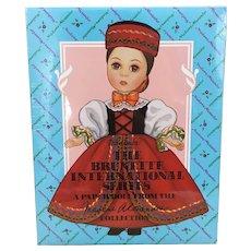 Never Opened, Peck Gandre The Brunette International Series Paper Dolls