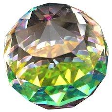 Swarovski crystal ball paper weight