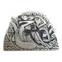 Alice Seely Urban collection Egyptian style pin