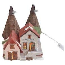 1986 Dept 56 Dicken's Village Series Bishops Oast House 1990