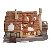 Dept 56 Heritage Village Collection  Dickens Village Series The Christmas Carol Cottage