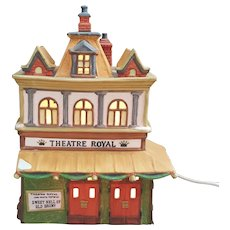 Dickens Village Series Theatre Royal Dept 56 1989 Heritage Village Collection