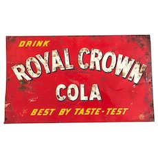 Old Royal Crown Cola Sign