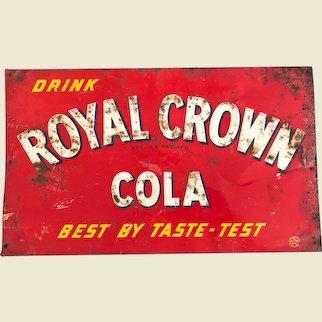 Old Royal Crown Cola Sign
