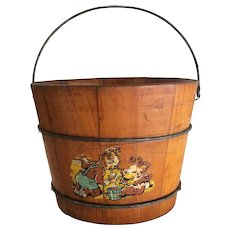 Borden's Elsie and Beulah Sand Pail