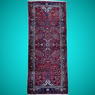 Red 7 ft Carpet Runners for SALE Hand-knotted 2' 9'' x 7' 2'' PersianCarpet Rug