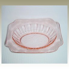 Jeannette Glass Company Adam Oval Vegetable Bowl