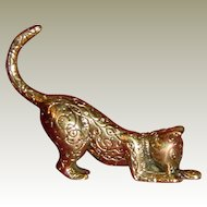 Asian Curio Cabinet Cat by Franklin Mint