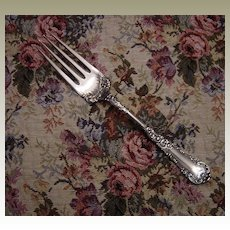 Wm Rogers Silverplate Serving Fork in the Yale Pattern