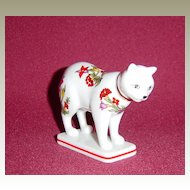Franklin Mint Curio Cabinet Kakiemon Cat