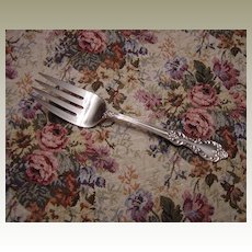 Wm Rogers International Silver Silverplated Grand Elegance Serving Fork