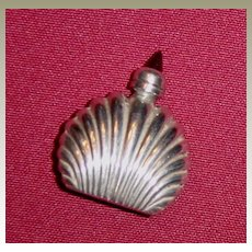 Tiny Mexican Sterling Silver Ormex Perfume Bottle with Dauber