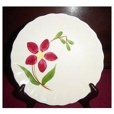 Southern Potteries Blue Ridge Enchantment Bread Plate