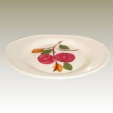 Southern Potteries Blue Ridge Delicious Apple Platter