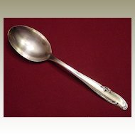 Wm Rogers MFG Co Silverplate Allure or Teatime Serving Tablespoon