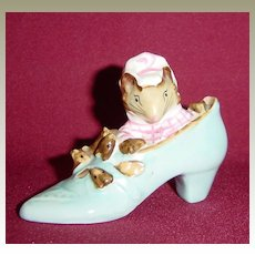Beswick Beatrix Potter The Old Woman Who Lived in a Shoe