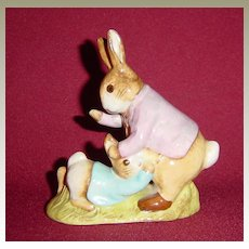Beswick Beatrix Potter Mr Benjamin Bunny and Peter Rabbit